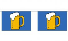 BEER BUNTING - 9 METRES 30 FLAGS